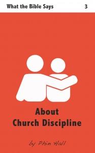 Church Discipline - Cover